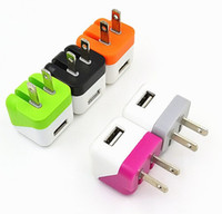 apple dice - US V A Foldable folding wall charger Dice USB charger cube home wall charge for iPhone s s samsung S4 S3 S5 ipad Note