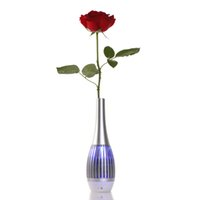 best speaker cell phone - 2015 most popular vase mini speaker with led ligth and APP for cell phone as Remote Control the best souvenir speaker N19