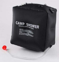Wholesale Outdoor shower bags bags L solar shower bag water bag water bottle water bag shower bags loaded bag