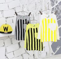 Boy Spring / Autumn Standard Autumn New Arrival Baby boys tee Cute kids clothing Stripe Children's T-shirts Fit 2-7 Age kids Long sleeve kids tee Toddlers clothing