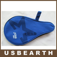 Wholesale Waterproof Table Tennis Racket Ping Pong Paddle Bat Bag Pouch with Ball Case