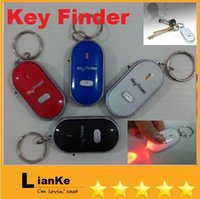 Wholesale Colorful Anti Loss Alarm Keychains Durable Designer Electronic Key Finder Keychains Plastic Material Top Quality Sale