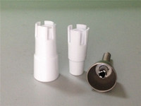 Glass adapter concentrates - Domeless Titanium Concentrate Nail with Two Porcelain Ceramic Adapters Fits Any Joint