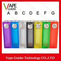 Wholesale 2015 ABS V2 Box Mod Mechanical Mod New ABS V2 Mod Vape Mod Fit WIth Double Batteries DHL Free
