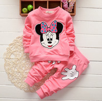Cheap no brand baby autumn clothing Best Unisex Spring / Autumn kids Minnie