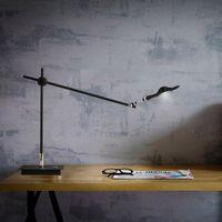 arm desk led lamp - American long arm desk lamp personality Nordic Iron led creative eye adjustable desk lamp study