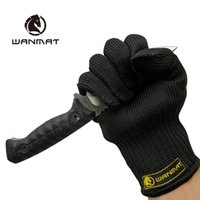 acrylic cutting equipment - Cut resistant steel glass cut resistant gloves self defense tool equipment razor knife stab proof gloves scratches