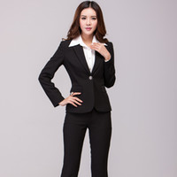 The 2014 women's autumn and winter occupation suit Couture interview