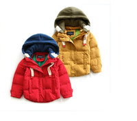 ab candy - New winter boy down jacket hooded years baby fashion warm coat candy colors children down jacket AB