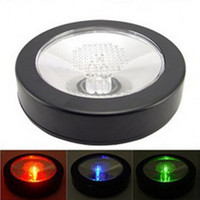 Wholesale Fashion Holiday Bar Dedicated LED Flash Cups Coasters Table Decoration Mat For Wedding Xmas Birthday Supplies
