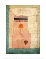 arabian painting - Arabian Song by Paul Klee abstract Handmade Oil painting High quality