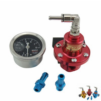 Wholesale Racing Sard Competition Adjustable Fuel Pressure Regulator Liquid Gauge for Honda Acura for all car