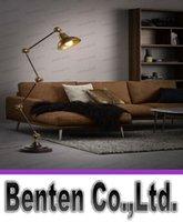 adjustable arm floor lamp - American Countryside Vintage Style Adjustable Long Arm Floor Lamp Study Room Light Foyer Light Bedroon Light LLFA5072F