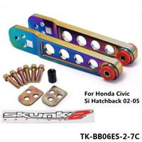 Wholesale TANSKY FOR CIVIC ES EM EP3 Aluminum JDM Rear Lower Suspension Control Camber Arm TK BB06ES C