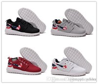 olympic flag - 2015 NIKE Roshe Run American Flag Shoes Men And Women USA Flag Summer Breathable Sneakers London Olympic Roshe Running Shoes