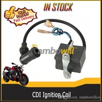 ignition coil - 12V CDI Ignition Coil Replacement Strengthen Energy Fits cc cc cc stroke Engine Motor Bike Motorized Bicycle Motorcycle