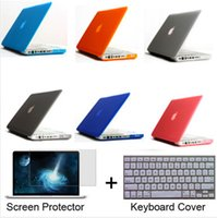 Wholesale 2015 Crystal Matte Case For Apple macbook Air Pro Pro Retina inch Protector For Mac book