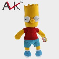 bart plush - new Anime Cartoon The Simpsons Bart Simpson Plush Toys Soft Stuffed Dolls cm byjm77i