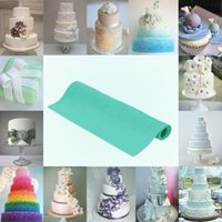 Wholesale Green Silicone Fondant Cakes Flowers Pattern Baking Mold DIY Cake Decoration Kitchen Tool H15664