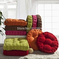 cushion fat pad - HOT x50CM Thickening tatami MATS Office Chair Cushion In the winter Seat Cushion Fat Pad Cloth Art Sofa Cushion