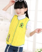 baby bladder - 2015 against JiBaoBao down vests girls boys down bladder children vest baby children s clothing BH1333