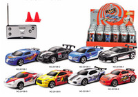 Wholesale Hot Sale Mini Coke Can RC Radio Remote Control Race Racing Car Toy Vehicles Gift