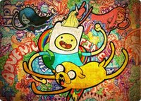 adventure games computer - Adventure Time mouse pad razer Graffiti game pad to mouse notebook computer mouse mat brand gaming mousepad gamer laptop