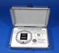 Wholesale Best Price DHL Free Shpping Multi lnguage Quantum Resonance Magnetic Health Analyzer Bio Electric Analyzer AH Q9 Mini Size