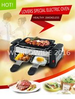 Wholesale multi home electric BBQ ovenware smokeless diy oven mini electric heating oven electric BBQ GRILL BBQ ovenware l
