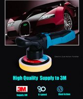 Wholesale Electric Dual Action Shock and Polishing Machine Car Polisher Cleaner with soft start V w GS CE EMC approved