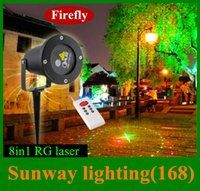 Wholesale Swimming pool decoration Firefly LED laser projector lights in1 in1 IP65 waterproof Laser stage light Remote Controller