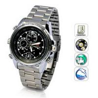 Wholesale New Mini Hidden Wrist Watch GB Video Spy Watch Camera DVR DV Waterproof Camcorder