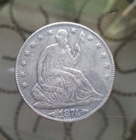 arrowhead art - S CC Seated Liberty ARROWHEADS AT DATE Half Dollar Coin FOR COLLECTION ONLY