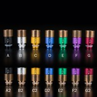 brass fitting - Stainless Steel Bronze Brass DT Aluminum Vapelyfe drip tips wide bore chalice muffler drip tip fit RDA RBA Atomizer