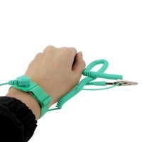 antistatic wrist strap - Pro skit AS H High Quality M Cable Anti static Strap ESD Wrist Band Antistatic For Static Protection With Alligator Clip E0253