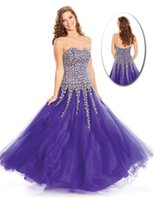 Reference Images A-Line Sweetheart 2015 A Line Crystals Beading Sequins WOW Prom Celebrity Dresses 4050 Tulle Floor Length Zipper Backless Winter Formal Cheap Evening Gowns