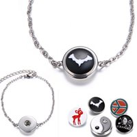brand name jewelry - Floating Locket Snap Button Connector Charm Bead Pendant Bracelet Jewelry Fit On Popular Brand Name Snap Accessories