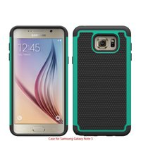 Plastic For Apple iPhone  For Galaxy Note 5 Robot 3 in 1 Football Rugged Hybrid Silicone PC Hard Phone Case Cover Shockproof for Samsung Note5 N9200