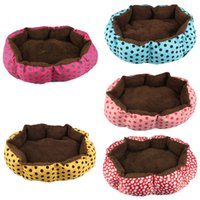 Wholesale Best Christmas Gift for your dog Soft Fleece Pet Dog Puppy Cat Warm Bed House Plush Cozy Nest Mat Pad wu