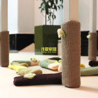 Wholesale Chair legs sets of tables socks cloth socks tables and chairs stool socks legs pad furniture pads chair mat legs sets