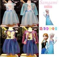 Cheap TuTu elsa Best Spring / Autumn Ball Gown big girls dresses