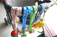 Wholesale Lemommom stroller straps baby toys toys baby toys anti lost a good partner with ribbon cotton jy102