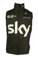 Wholesale 2014 SKY Cycling Windproof Vest ciclismo clothing sleeveless Maillot