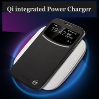 Wholesale Hot Frosted Plastc Non Slip QI Power Transmitter Wireless Charger Dock for Nexus5 Nexus6 Samsung Galaxy S3 S4 S5 Note2 Note3 NOKIA