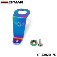 Wholesale EPMAN Racing Neo Chrome JDM Billet Aluminum Radiator Stay Bracket Gasket Screw For Honda Civic EG EP SX02D C