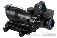 Wholesale Hottest Trijicon ACOG Red Green Light Changing Telescopic Sights Gun Sight Laser Sight Monocular