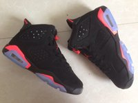 Wholesale Black Infrared Men and Women Sneakers new arrival J6 Basketball Shoes high quality sports shoes size
