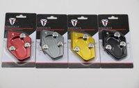 Wholesale FreeshippingKODASKIN Motorcycle CNC Aluminum Side Stand Enlarge FOR TMAX530 XP530