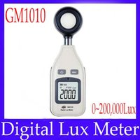 Wholesale Digital Lux Meter photometer GM1010 MOQ free shiupping