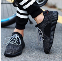 Wholesale New Mens Women Shoes Kanye West Yeezy Boost Athletic Boots Ankle Boots Low cut Shoes With Box Sports Boot